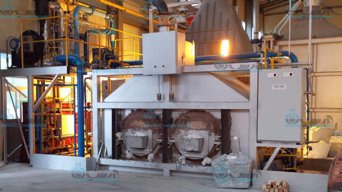 مراحل تولید اکسید روی در کارخانه